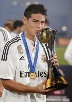 Las mejores imágenes del Real Madrid Campeón del Mundo james rodriguez