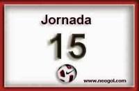 Partidos Jornada 15. Liga Española BBVA 2014