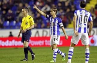 Levante 1-Real Sociedad 1. Jornada 16  Liga Española