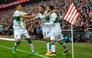 Athletic Bilbao 1-Elche 2. Jornada 18 Liga Española