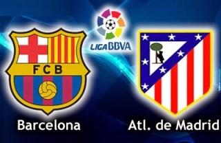 Alineación y la previa Barcelona-Atlético Madrid. Jornada 18