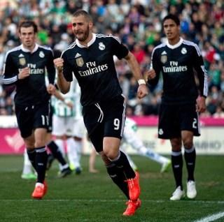 Córdoba 1-Real Madrid 2. Jornada 20 Liga Española