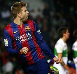 Elche 0-Barcelona 6. Jornada 20 Liga Española