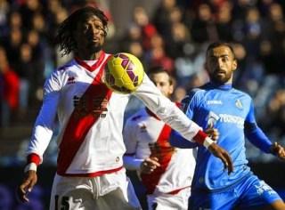 Getafe 1-Rayo Vallecano 2. Jornada 17 Liga Española