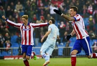 Atlético Madrid 2-Granada 0. Jornada 19 Liga Española