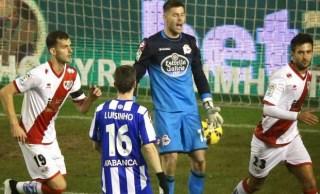 Rayo Vallecano 1-Deportivo 2. Jornada 21 Liga Española