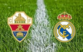 Alineación y la previa Elche-Real Madrid. Jornada 24