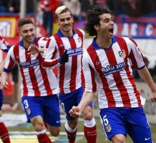 Atlético Madrid 4-Real Madrid 0. Jornada 22 Liga Española