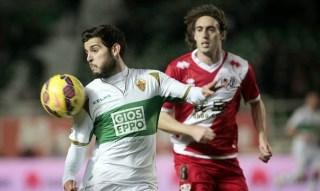 Elche 2-Rayo Vallecano 0. Jornada 22 Liga Española