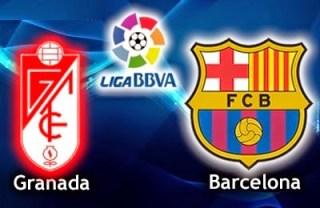 Alineación y la previa Granada-Barcelona. Jornada 25