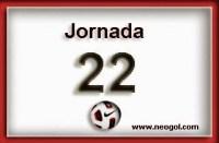Partidos Jornada 22. Liga Española BBVA 2015