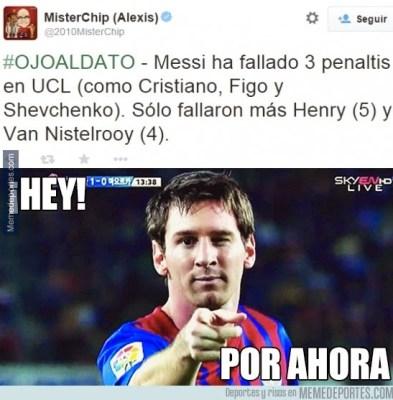 Los mejores memes del M. City-Barcelona: Champions messi falla penal
