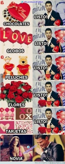Los mejores memes del Real Madrid-Deportivo: Liga Española ronaldo san valentin irina