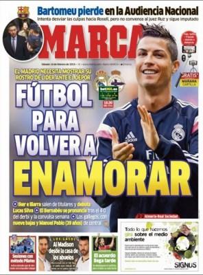 Portada Marca: fútbol para enamorar