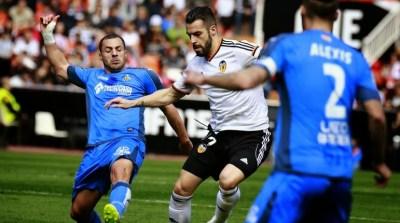 Valencia 1-Getafe 0. Jornada 23 Liga Española