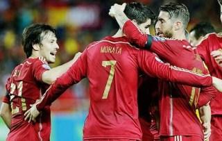 España 1-Ucrania 0. Eliminatoria Euro 2016