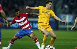Granada 1-Málaga 0. Jornada 26 Liga Española
