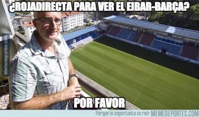 Los mejores memes del Éibar-Barcelona: Jornada 27