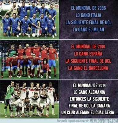 Los mejores memes del sorteo de Cuartos de Champions League