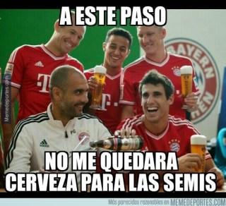 Los mejores memes del sorteo de Cuartos de Champions League pep guardiola bayern munich