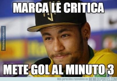 Los mejores memes del Villarreal-Barcelona: Copa del Rey neymar marca