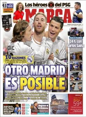 Portada Marca: Otro Madrid es posible