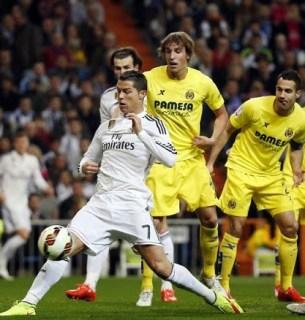 Real Madrid 1-Villarreal 1. Jornada 25 Liga Española