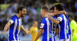 Real Sociedad 1-Espanyol 0. Jornada 26 Liga Española