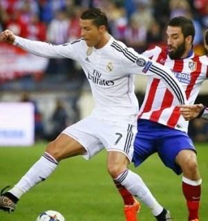 Atlético 0-Real Madrid 0. Cuartos Champions League (ida)