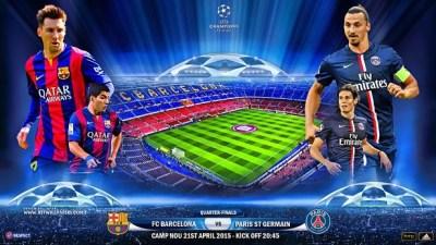 Alineación Barcelona-PSG: Cuartos Champions (vuelta)
