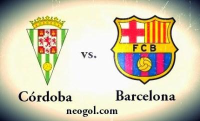 Alineación y la previa Córdoba-Barcelona. Jornada 35