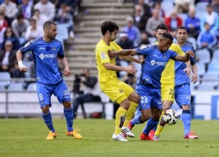 Getafe 1-Villarreal 1. Jornada 31 Liga Española