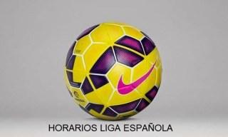 Horarios partidos Jornada 30 para Latinoamérica  y EE.UU Liga Española