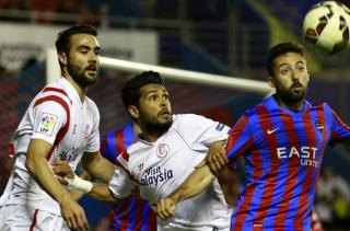 Levante 1-Sevilla 2. Jornada 30 Liga Española