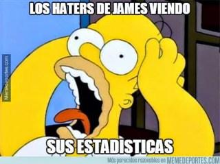 Los mejores memes del Celta-Real Madrid: Jornada 33 hater james