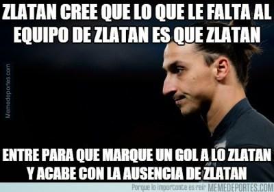 Los mejores memes del PSG-Barcelona: Cuartos Champions zlatan