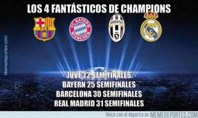 Los mejores memes del sorteo de Semifinales de Champions 2015