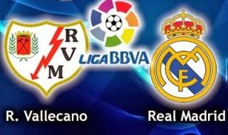 Alineación y la previa Rayo Vallecano-Real Madrid. Jornada 30