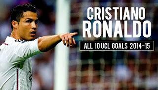 Los 10 goles de Cristiano Ronaldo en la liga de campeones 2014-15