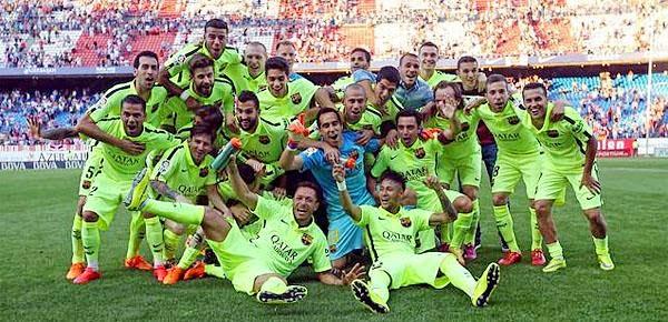 Las mejores imágenes del Barcelona Campeón de Liga Española 2015