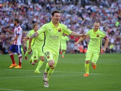 Las mejores imágenes del Barcelona Campeón de Liga Española 2015 leo messi