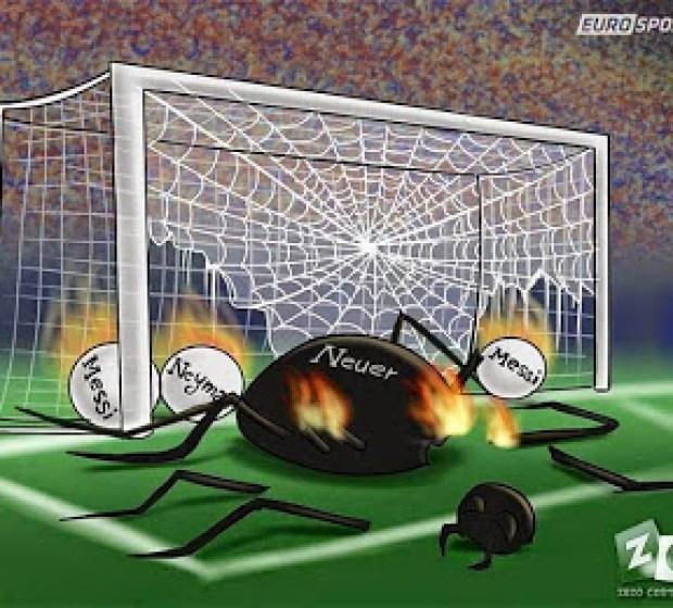 Los mejores memes del Barcelona-Bayern Munich: Semis Champions neuer