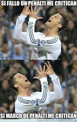 Los mejores memes del Real Madrid-Juventus: Champions penaldo
