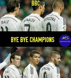 Los mejores memes del Real Madrid-Juventus: Champions bbc bye bye champions