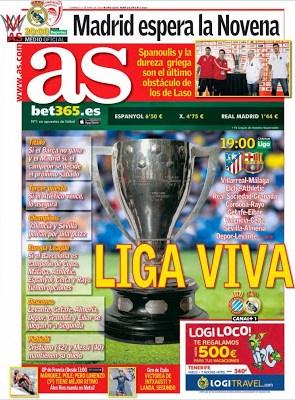 Portada AS: Liga Viva