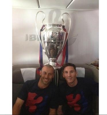 mascharano messi champions league 2015