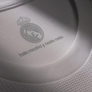La nueva camiseta del Real Madrid: Temporada 2015-2016 hala madrid y nada mas