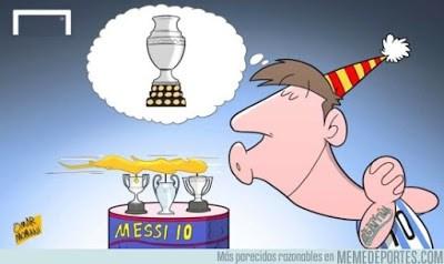 Los mejores memes del Argentina-Colombia messi
