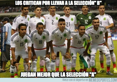 Los memes del Chile-Méxic Copa América