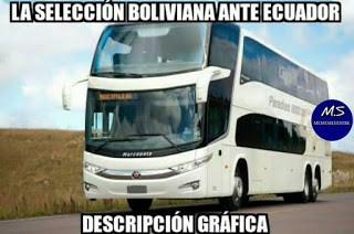 Ecuador-Bolivia memes copa america